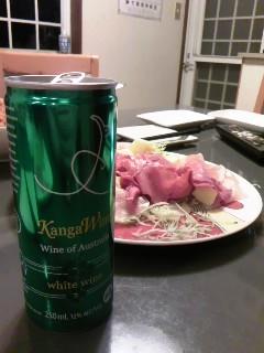 缶入りワイン